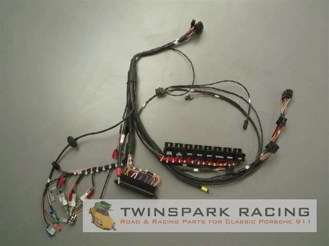 replacement porsche 911 wiring loom twinspark racing rh twinsparkracing com porsche 911 wiring diagram 1972 porsche 911 wiring diagram 1972