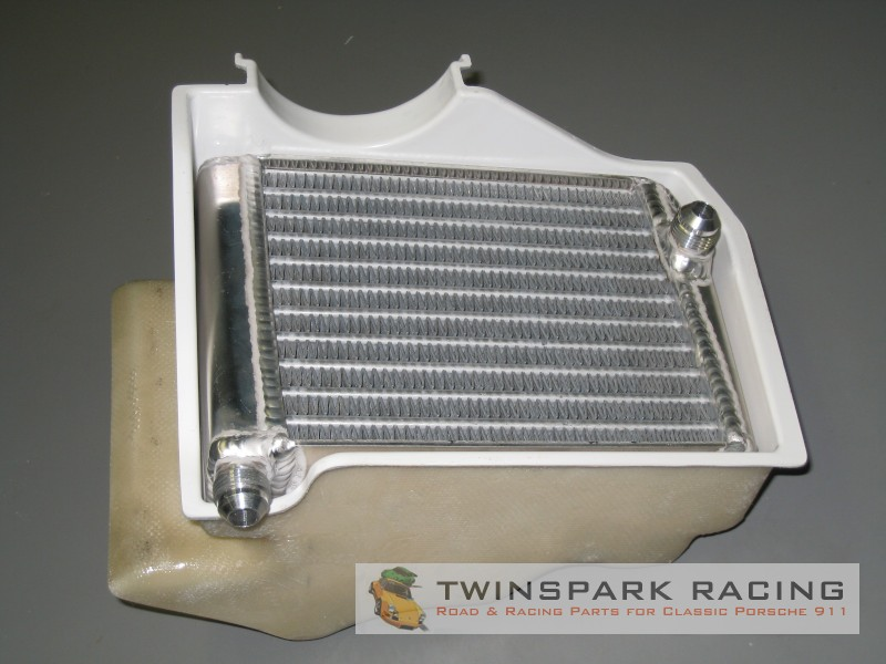 Porsche Design Cooler : Wevo porsche transmission oil cooler housing ducting